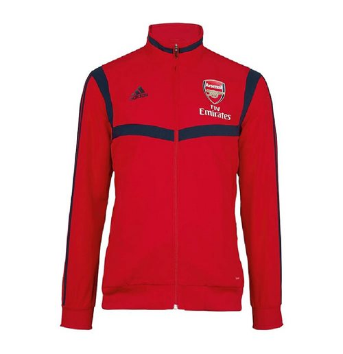 2019-2020 Arsenal Adidas Presentation Jacket (Red)