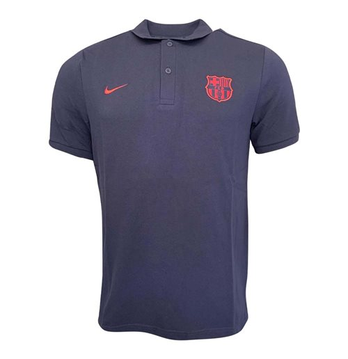 2019-2020 Barcelona Nike Core Polo Shirt (Obsidian)
