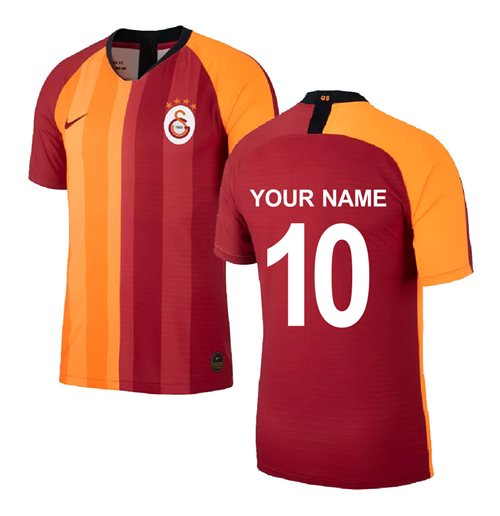 2019-2020 Galatasaray Home Shirt (Your Name)