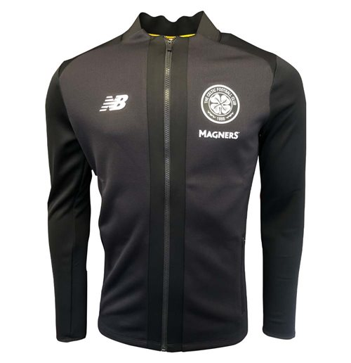2019-2020 Celtic Game Jacket (Silver Grey)
