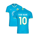 2019-2020 VFL Wolfsburg Away Nike Football Shirt (Your Name)