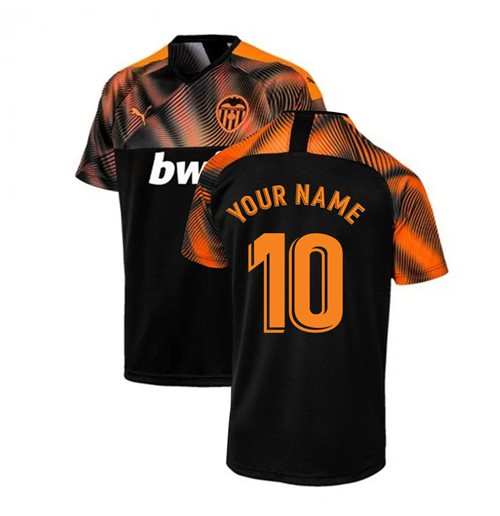 2019-2020 Valencia Puma Away Football Shirt (Your Name)