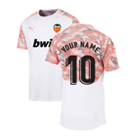 2019-2020 Valencia Puma Training Shirt (White) (Your Name)