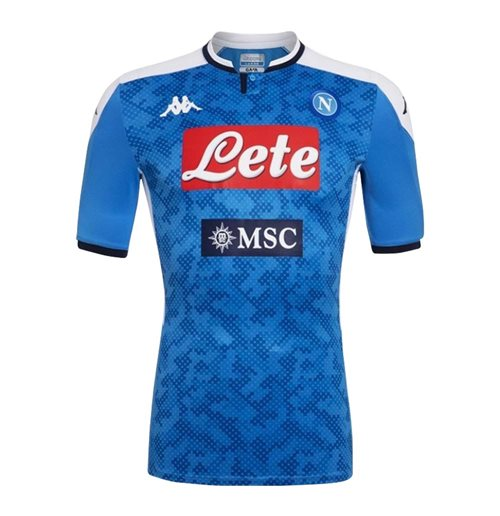 2019-2020 Napoli Kappa Home Shirt