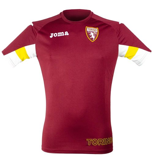 2019-2020 Torino Joma Training Shirt (Burgundy)