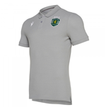 2019-2020 Sporting Lisbon Macron Cotton Polo Shirt (Grey)