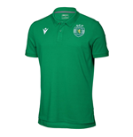 2019-2020 Sporting Lisbon Macron Cotton Polo Shirt (Green)