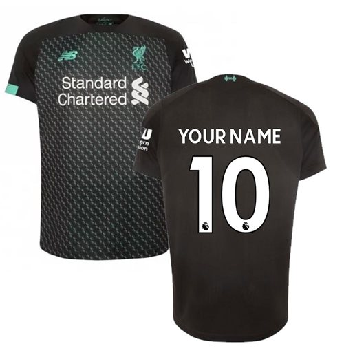 2019-2020 Liverpool Third Football Shirt (Your Name)