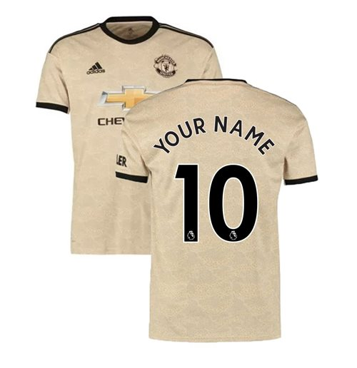 2019-2020 Man Utd Adidas Away Football Shirt (Your Name)