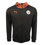 2019-2020 Manchester City Puma Casuals Full Zip Hoody (Asphalt)