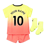 2019-2020 Manchester City Third Baby Kit (Your Name)