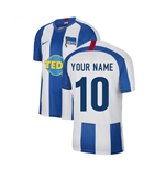 2019-2020 Hertha Berlin Home Nike Shirt (Kids) (Your Name)