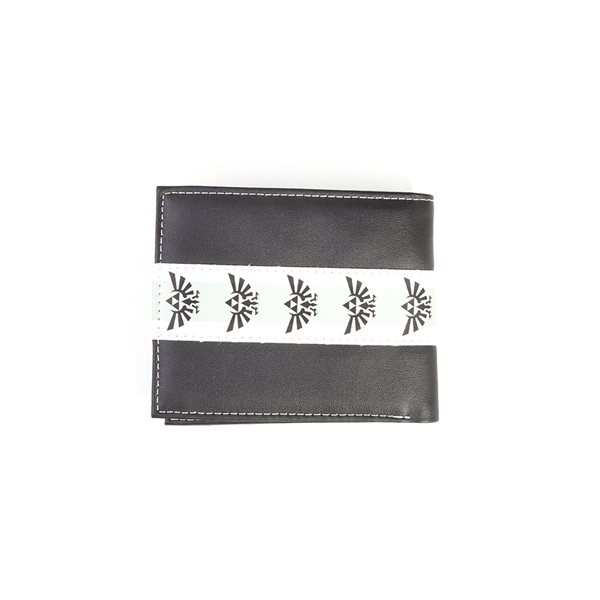 Nintendo - Zelda Black & White Men's Bifold Wallet