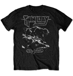 Thin Lizzy Unisex Tee: Nightlife