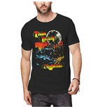 Thin Lizzy Unisex Tee: Nightlife Colour