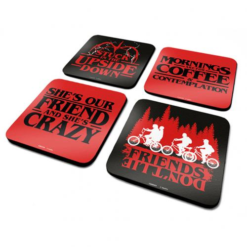 Stranger Things Coaster Set