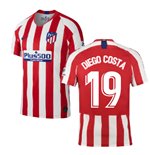 2019-2020 Atletico Madrid Home Nike Football Shirt (DIEGO COSTA 19)