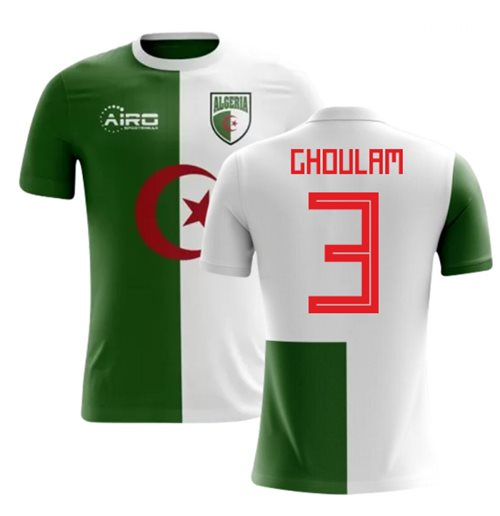 2018-2019 Algeria Home Concept Football Shirt (Ghoulam 3)