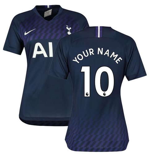 2019-2020 Tottenham Away Nike Ladies Shirt (Your Name)