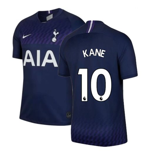 2019-2020 Tottenham Away Nike Football Shirt (KANE 10)