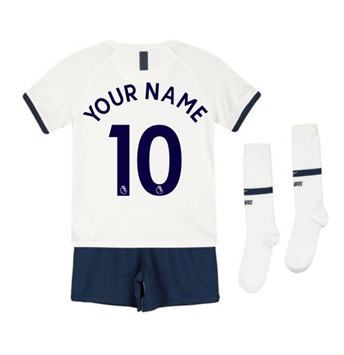 2019-2020 Tottenham Home Nike Little Boys Mini Kit (Your Name)