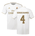 2019-2020 Real Madrid Adidas Home Football Shirt (SERGIO RAMOS 4)