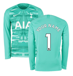 2019-2020 Tottenham Home Nike Goalkeeper Shirt (Hyper Jade) (Your Name)