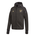 2019-2020 Man Utd Adidas Zne 3.0 Anthem Jacket (Black)