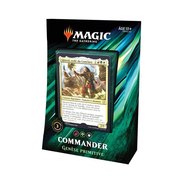Magic the Gathering Commander 2019 Decks Case (4) french