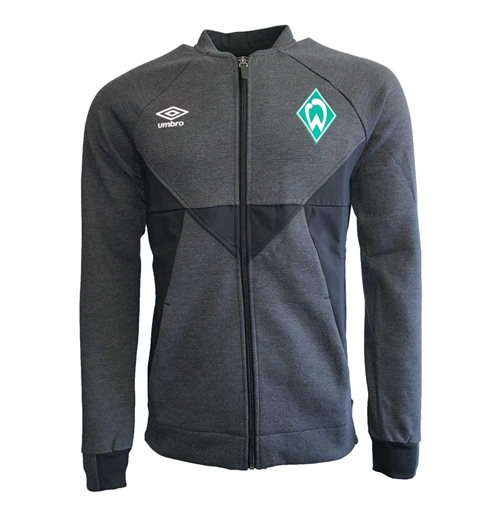 2019-2020 Werder Bremen Umbro Presentation Jacket (Black)