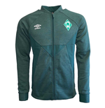 2019-2020 Werder Bremen Umbro Presentation Jacket (Green)