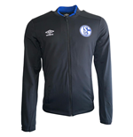 2019-2020 Schalke Umbro Knit Jacket (Black)