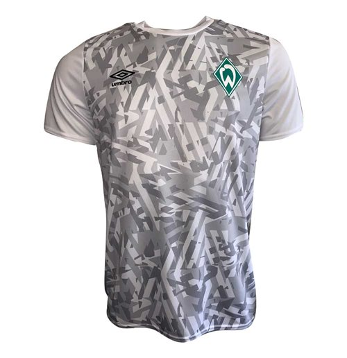 2019-2020 Werder Bremen Umbro Warm Up Shirt (White)