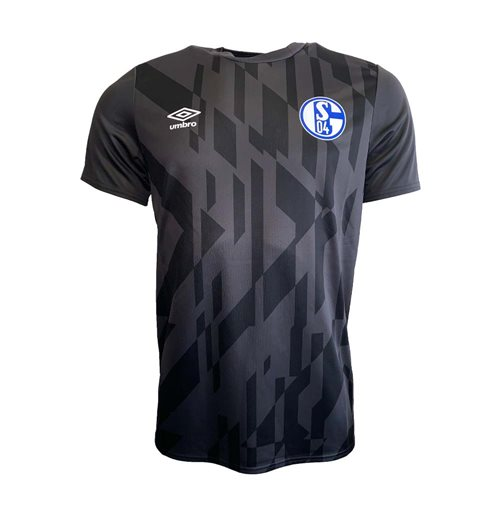 2019-2020 Schalke Umbro Warm Up Shirt (Black)