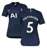 2019-2020 Tottenham Away Nike Ladies Shirt (VERTONGHEN 5)