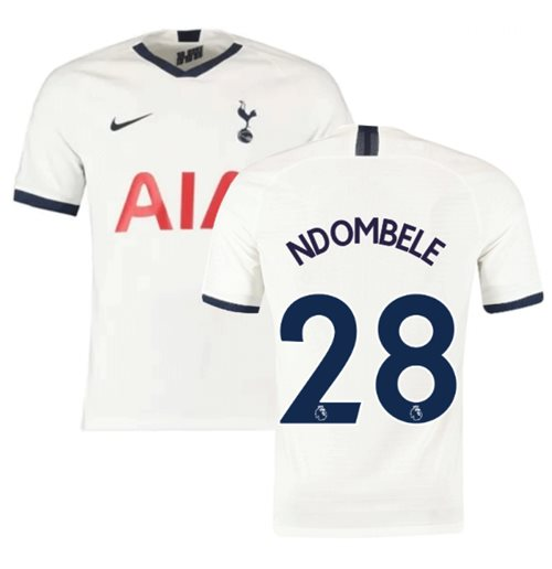 2019-2020 Tottenham Home Nike Football Shirt (Ndombele 28)