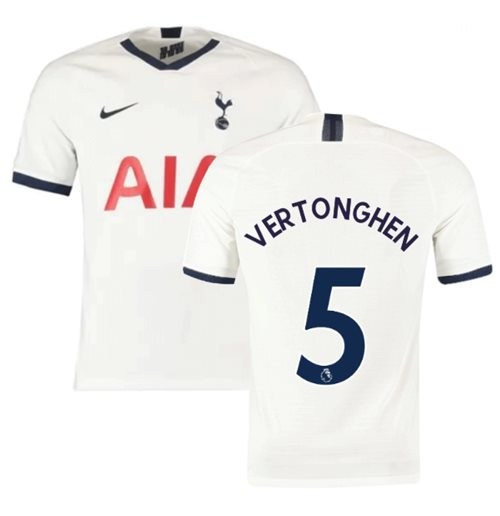 2019-2020 Tottenham Home Nike Football Shirt (VERTONGHEN 5)
