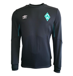 2019-2020 Werder Bremen Umbro Sweat Top (Black)