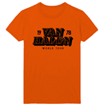 Van Halen Unisex Tee: World Tour '78