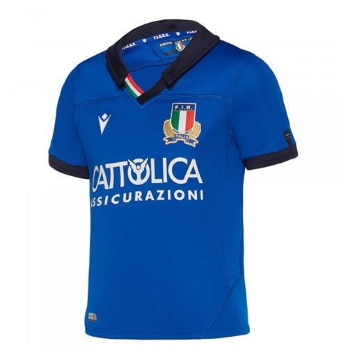 2019-2020 Italy Home Replica Rugby Shirt (Kids)