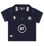 2019-2020 Scotland Macron Home Rugby Baby Shirt