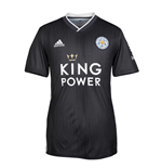 2019-2020 Leicester City Away Football Shirt (Kids) Grey