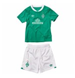 2019-2020 Werder Bremen Home Little Boys Mini Kit