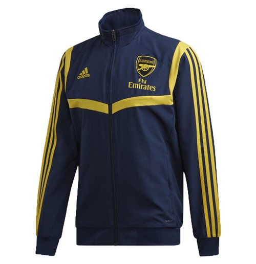 2019-2020 Arsenal Adidas EU Presentation Jacket (Navy)