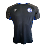 2019-2020 Schalke Umbro Training Shirt (Black)