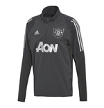 2019-2020 Man Utd Adidas EU Training Top (Carbon)