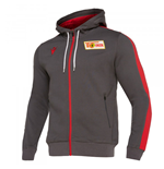 2019-2020 Union Berlin Travel Hoody (Grey)