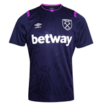 2019-2020 West Ham Third Football Shirt