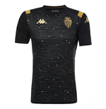 2019-2020 Monaco Pre Match Training Shirt (Black)