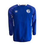 2019-2020 Schalke Umbro Drill Top (Blue)